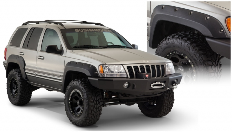 Abas Bushwacker Originais - Jeep WJ