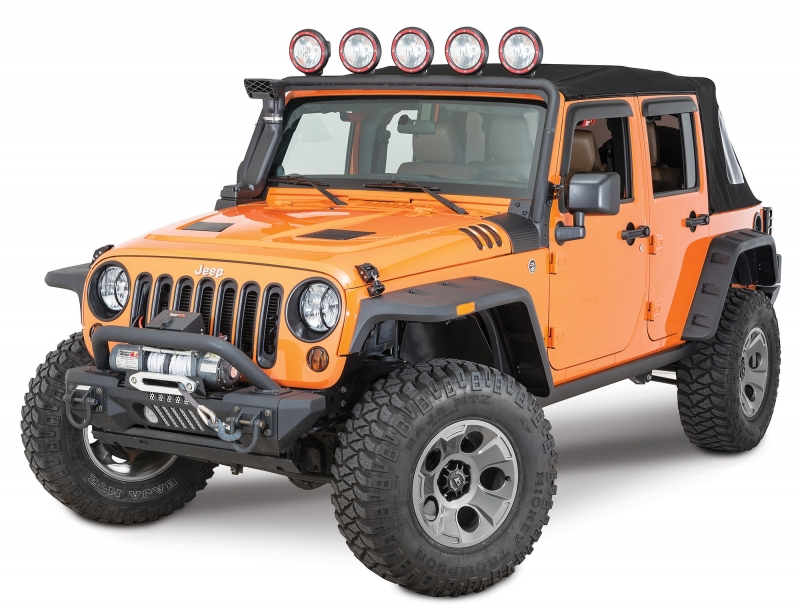 Abas Hurricane Originais  - Jeep JK