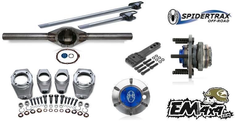 Eixos Completos Spidertrax Pro Series