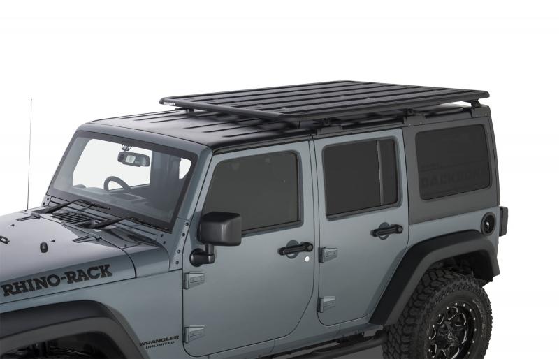 Grade Tejadilho Rhino-Rack Pioneer Backbone - Jeep JK