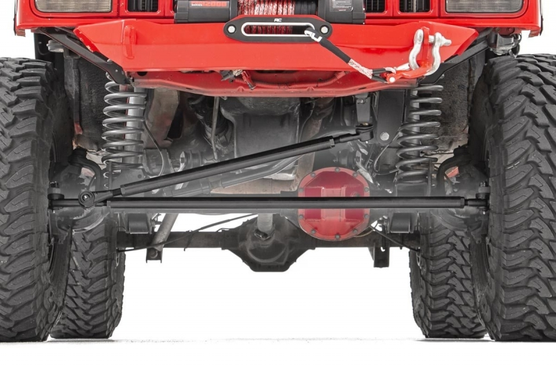 Kit Barras Direcção Reforçadas Rough Country - Jeep XJ, ZJ e TJ