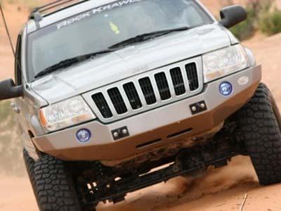 Para-Choques de fibra Go Berserk S/ guincho Jeep WJ