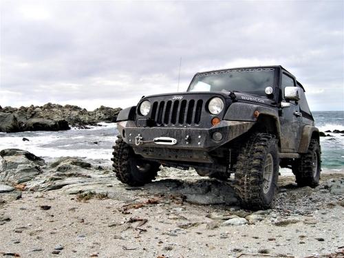 Para-Choques AFN Jeep JK p/ guincho