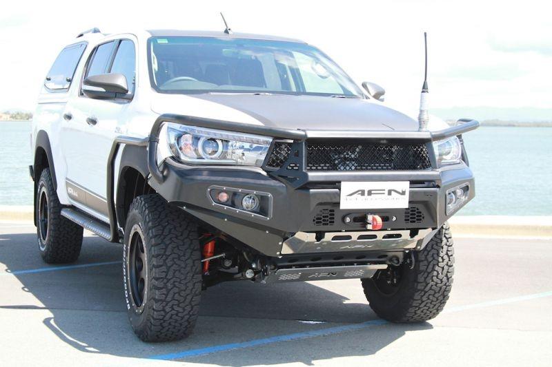 Para Choques Frente AFN BullBar e Guincho - Toyota Hilux Revo 15+