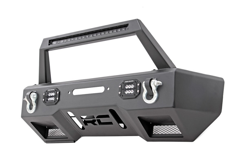 Para-choques Frontal RCX LED - Jeep JK