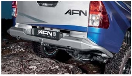 Para Choques Traz AFN - Toyota Hilux Revo 15+